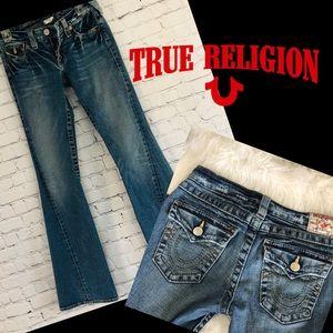 True Religion Disco Joey Big T distressed jeans 29